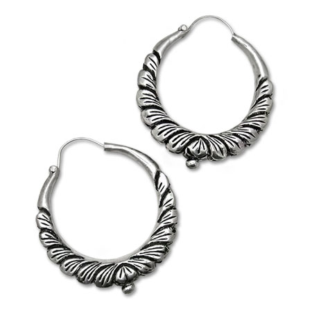 Marwari earrings in sterling silver