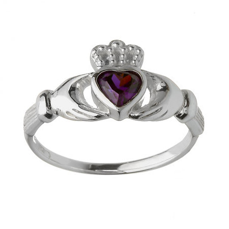 anello claddagh argento