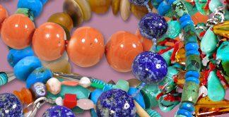 joyer� a piedras semipreciosas