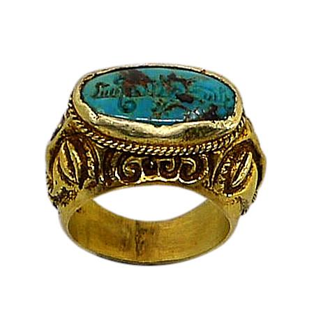 anelli iraniani persiani periodo safawide