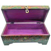 scatola bauletto etnico legno